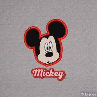 Jersey Panel/Disney Panel Mickey Maus, Panel-Höhe 75 cm