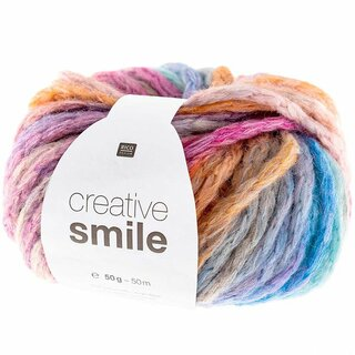 RICO Design Creative Smile 50gr, Farbe 004 Rainbow
