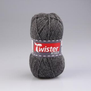 Twister Sport 50 g, anthrazit, Farbe 019